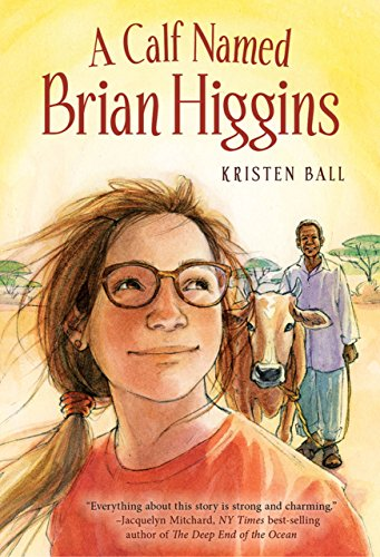 A Calf Named Brian Higgins book cover art