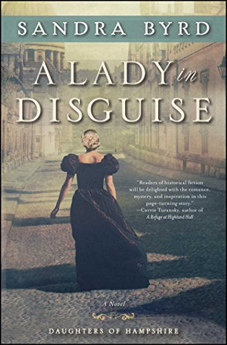 A Lady in Disguise book cover art
