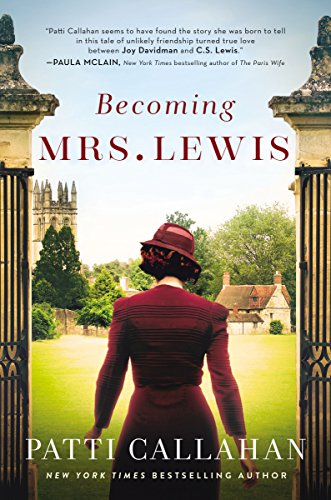 Becoming Mrs. Lewis book cover art