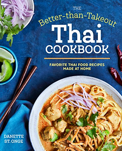 Better than Takeout Thai Cookbook cover