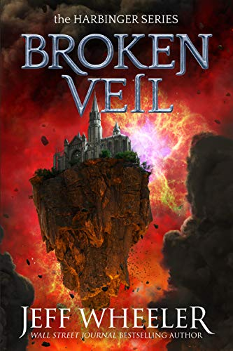 Broken Veil book cover art