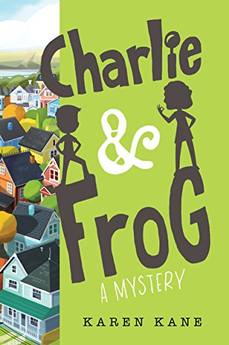 Charlie and Frog book cover art