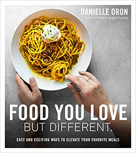 Food You Love But Different book cover art