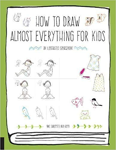 How to Draw Almost Everything for Kids book cover art