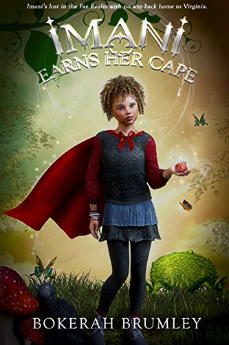 Imani Earns Her Cape book cover art