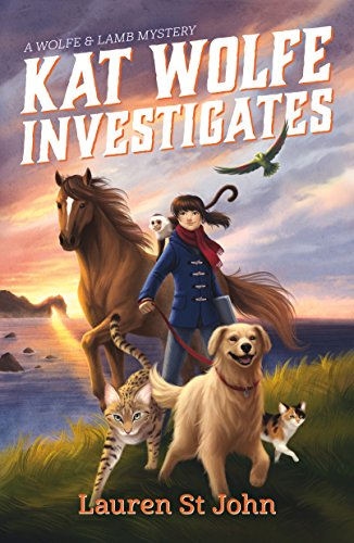 Kat Wolfe Investigates book cover art