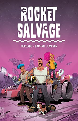 Rocket Salvage book cover art