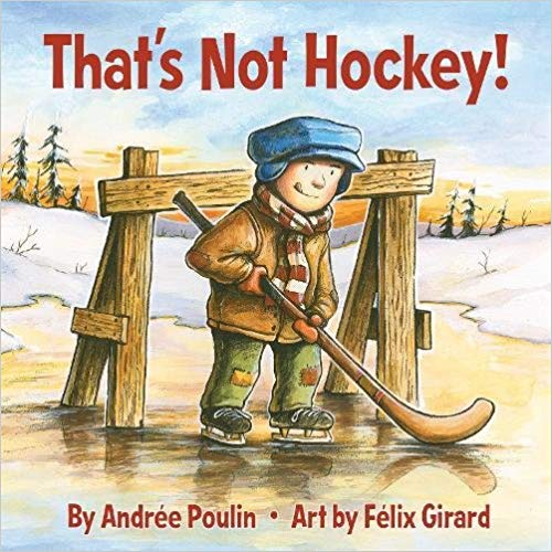 That's Not Hockey book cover art