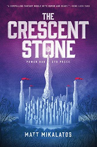 The Crescent Stone book cover art
