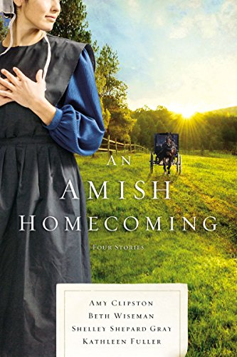 An Amish Homecoming book cover art