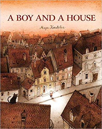 A Boy and a House book cover art