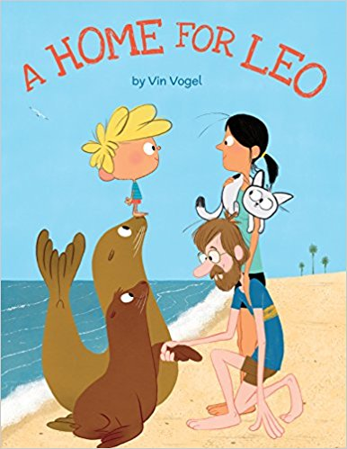 A Home for Leo book cover art