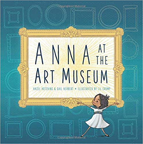 Anna at the Art Museum book cover art