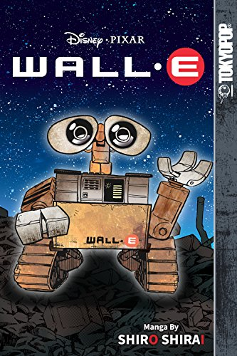 Disney Manga Pixar - Wall-E book cover art