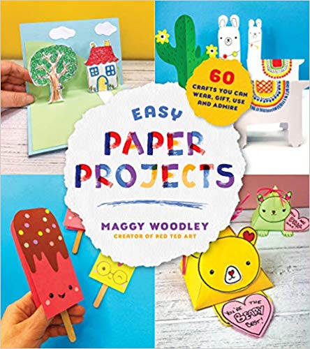 Easy Paper Projects book cover art