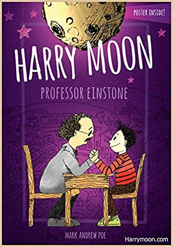 Harry Moon: Professor Einstone book cover art