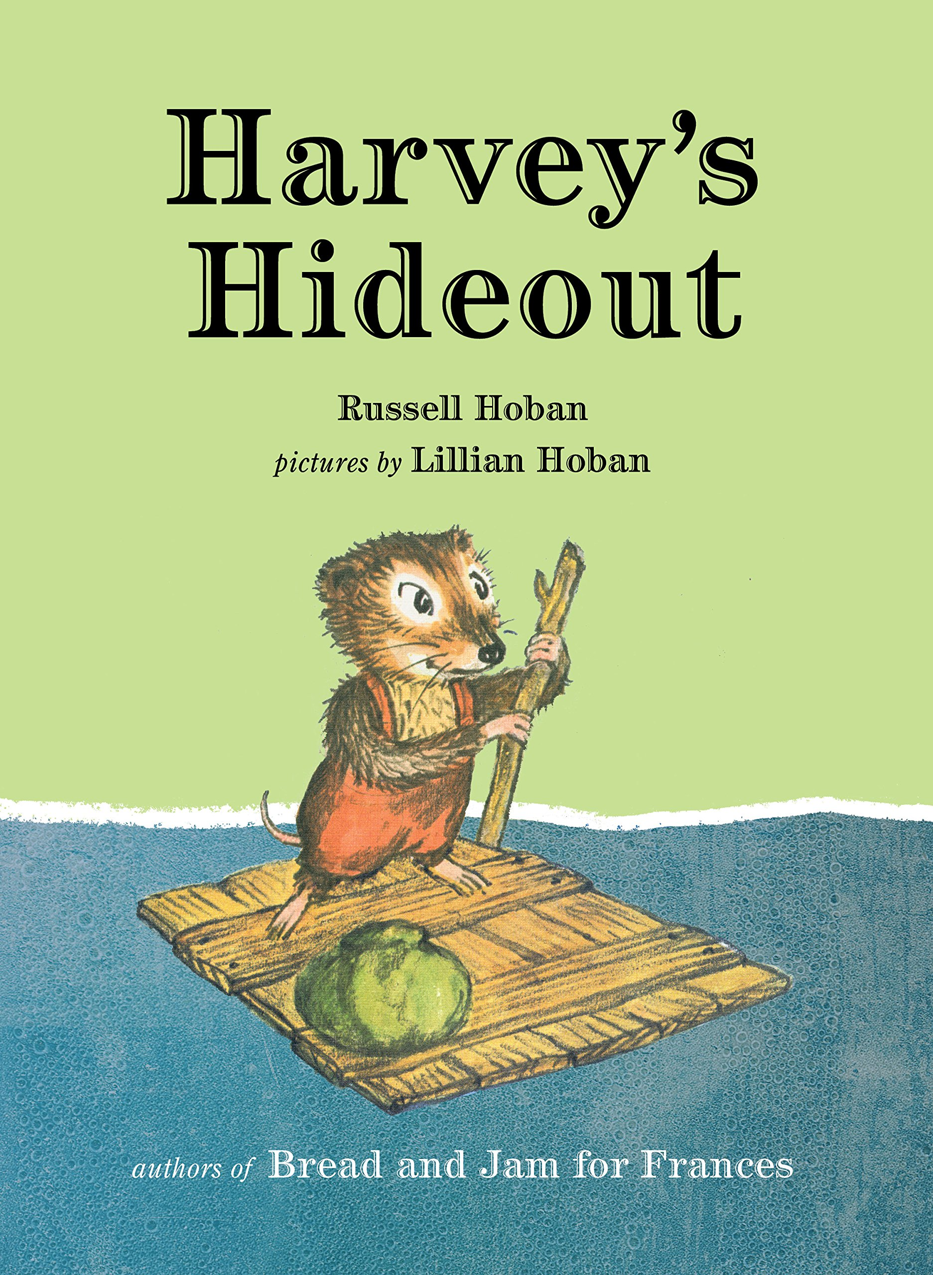 Harvey's Hideout book cover