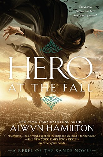Hero at the Fall book cover art
