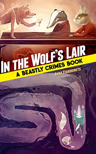 In the Wolf's Lair book cover art