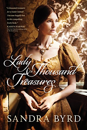Lady of a Thousand Treasures book cover art