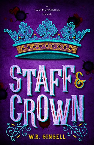 Staff and Crown book cover art