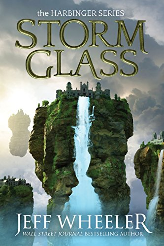 Storm Glass book cover art