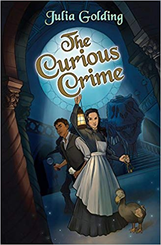 The Curious Crime book cover art