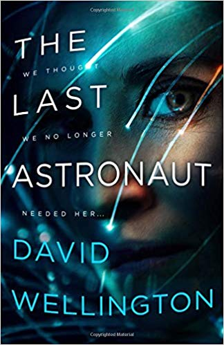 The Last Astronaut book cover art