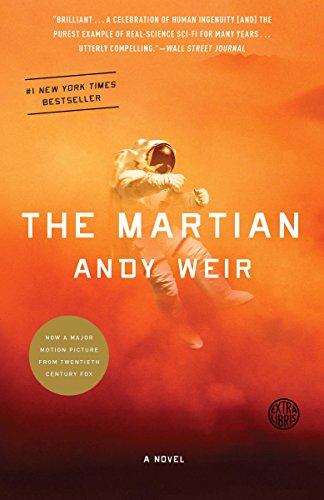 The Martian book cover art