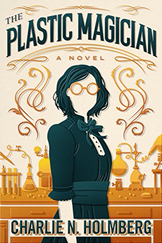 The Plastic Magician book cover art