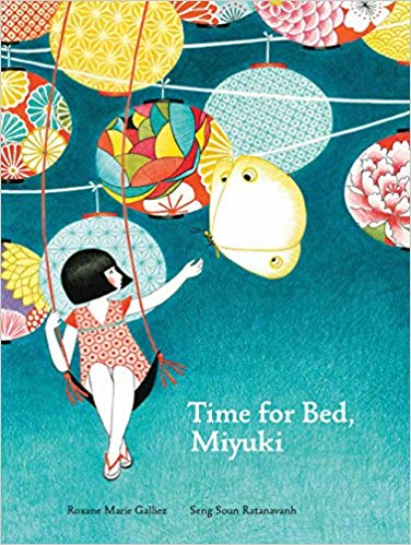 Time for Bed, Miyuki book cover art
