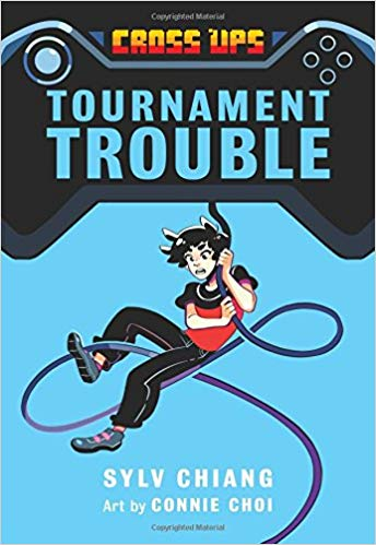 Tournament Trouble book cover art