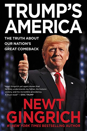 Trump's America book cover art